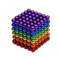 NeoCube magnetické kuličky 5mm 216 kusů barevné