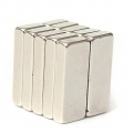 10 kusů Neodymový magnet 15 x 6 x 3 mm