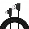 Nylonový kabel USB Micro 3M černý