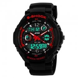 Pánské sportovní hodinky - SKMEI S-shock red