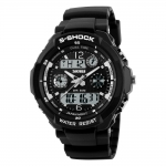 Pánské sportovní hodinky - SKMEI S-shock silver