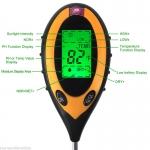 Multi metr měřící pH, teplotu a vlhkost půdy.