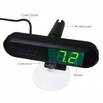 pH monitor, mini metr pro neustálé měření pH