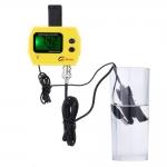 pH monitor s měřením teploty