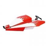 Papírová vlašťovka el. motorem s vrtulkou