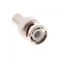 Redukce, konektor CCTV BNC samec - CINCH samice