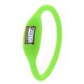 Digitální silikonové hodinky - zelená