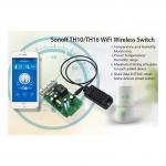 WiFi termostatický modul pro řízení teploty a vlhkosti Sonoff TH16 na 230V