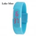 Digitální hodinky na běhání - světle modré