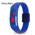 Digitální hodinky na běhání - tmavě modré