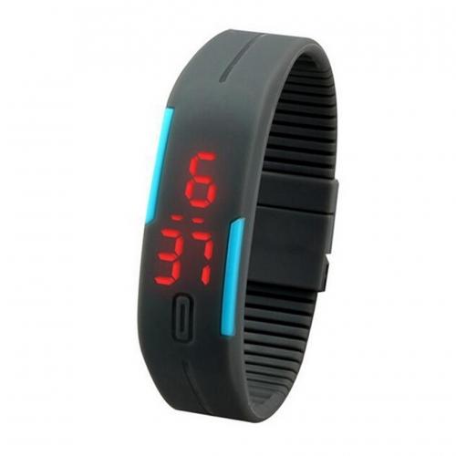 Sportovní unisex hodinky na běhání - šedá 8852c61e87