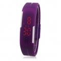 Sportovní unisex hodinky na běhání - fialová