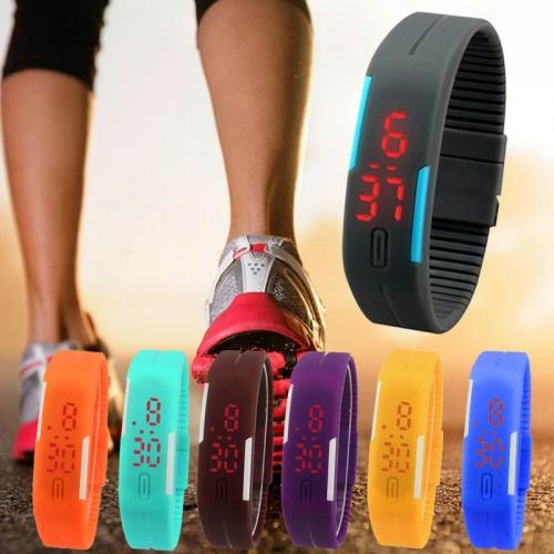 Sportovní unisex hodinky na běhání - černá a9ce117c0b