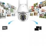 Venkovní IP kamera Sricam SP028 1080P WIFI PTZ