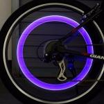 Svítící LED ventilky na kolo