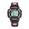 Digitální dětské sportovní hodinky Synoke - růžové