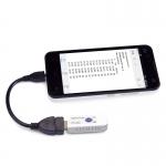 USB teploměr a vlhkoměr TEMPerHum TXT do PC