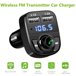 Transmitter do auta, HandsFree Bluetooth, USB nabíječka 3.1A