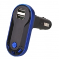 FM Transmitter do auta podpora Bluetooth handsfree
