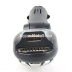 Fm transmitter do auta, mp3 přehrávač černý.