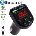 Transmitter do auta HandsFree Bluetooth USB nabíječka 3.1A