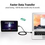Ugreen Pozlacený USB datový a nabíjecí kabel USB-C typ C