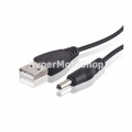 Napájecí USB kabel s DC konektorem 3,5mm
