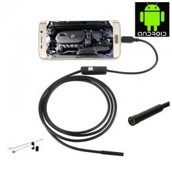 Micro USB endoskop 2m, kamera pro chytrý telefon