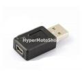 Adaptér, redukce USB 2.0/USB mini (samice)