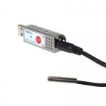 USB teploměr s čidlem pro počítače