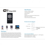 WiFi Magic box pro USB endoskopy, mikroskopy a web kamery
