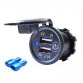 USB zásuvka do panelu, dotykový vypínač