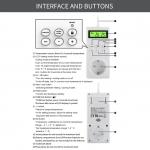 Tepelně spínaná zásuvka termostat s čidlem