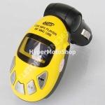 Žlutý fm transmitter do auta.